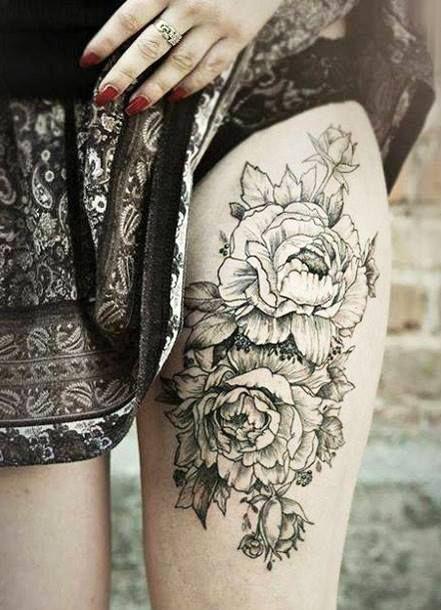 Nice Flower Tattoo