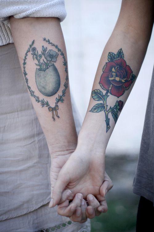 Old School Wrist Tattoo