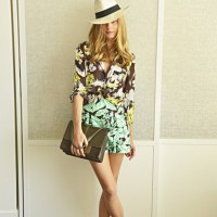 Olivia Palermo's Floral Outfit