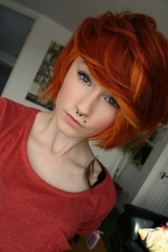 14 Fabulous Orange Hairstyles Pretty Designs