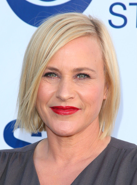 Patricia Arquette Chin-Length Straight Haircut