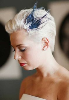 Pixie Haircut for Short Wedding Hairstyles