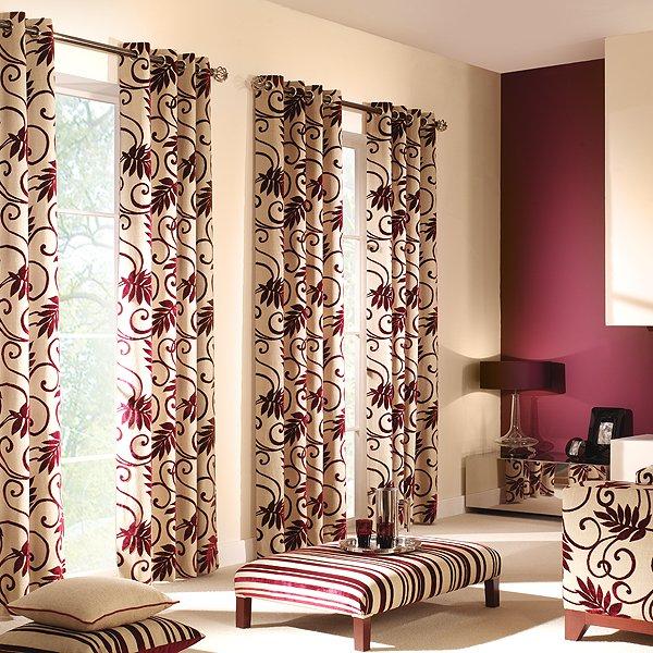 Plant Pattern Curtain