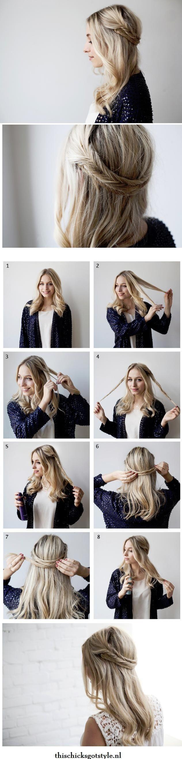 Magnificent 11 Simple Yet Stylish Hairstyle Tutorials For Work Pretty Designs Short Hairstyles Gunalazisus