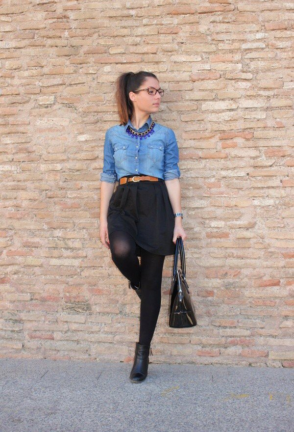 Casual skirt outfits tumblr