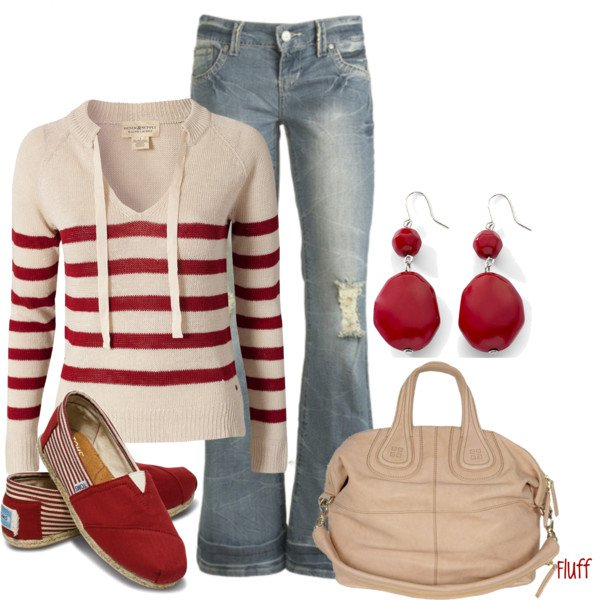 Pretty Fall Outfit Idea