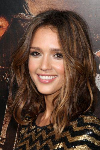 Pretty Medium Brunette Curls