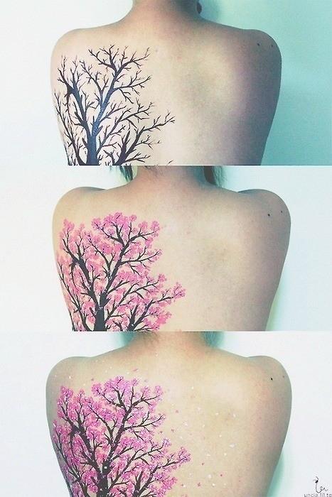 Pretty Plant Tattoo Idea
