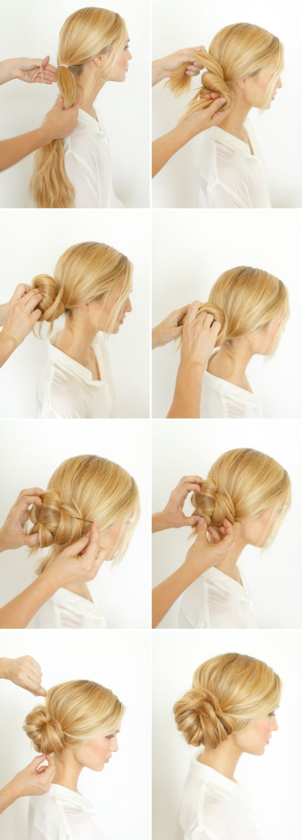 Graceful and Beautiful Low Side Bun Hairstyle Tutorials and Hair ...