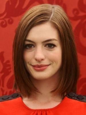 Pretty Side-parted Haircut for Medium Hair