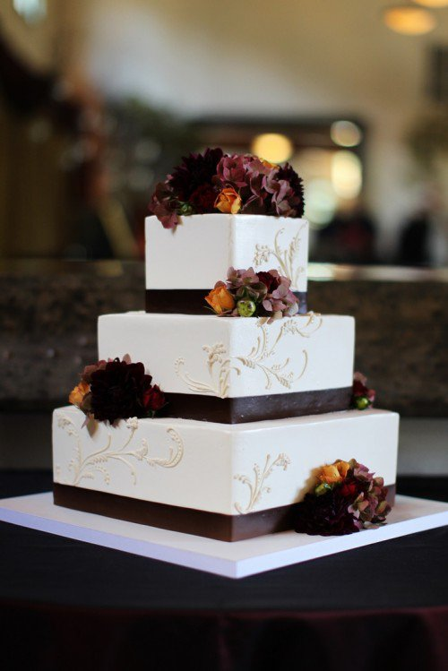 autumn square wedding cakes 15 fall wedding cake ideas you may pretty designs 10897