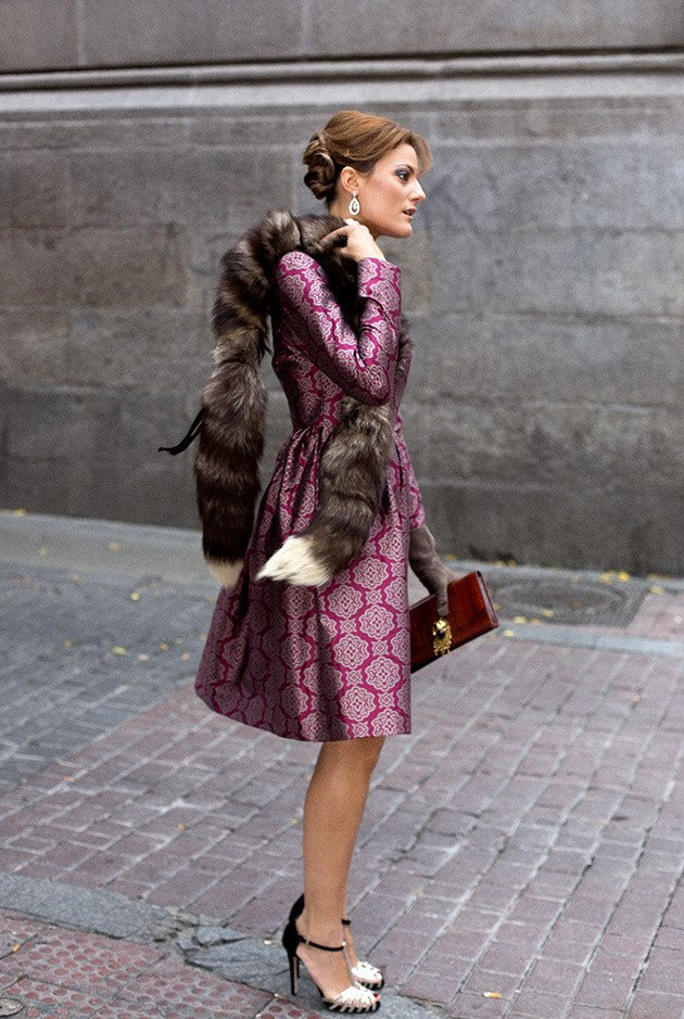Printed Vintage Outfit for Women