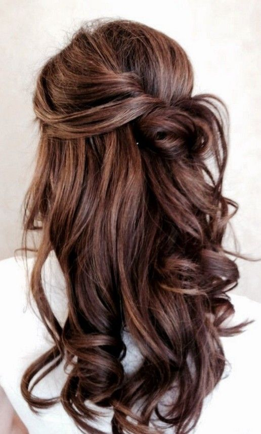 Prom Hairstyle for Long Hair - Pretty Designs