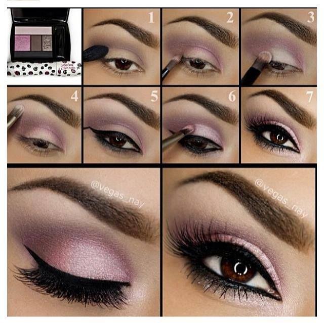 Purple Smoky Eye Makeup Tutorial