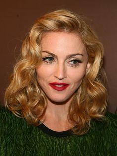 10 Great Madonna Hairstyles Pretty Designs