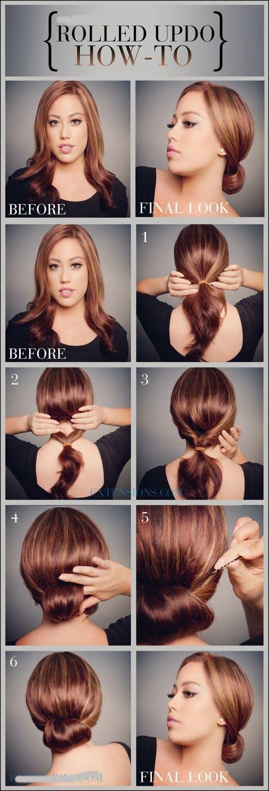 Roll Up Hair