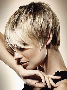 Sassy Short Hairstyle With Bangs