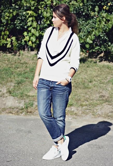 School Style Sweater for Women