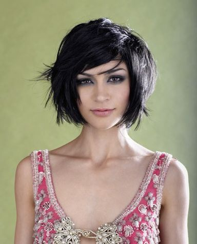 Shaggy Bob Haircut for Black Hair