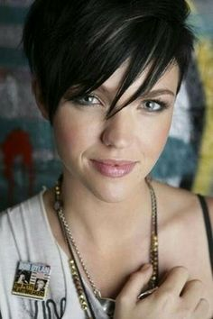 Short Black Hair With Blonde Highlights