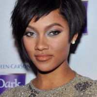 Short Black Haircut for African American Women