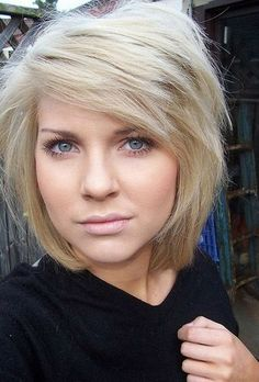 Short Bob Hairstyle for Thick Hair