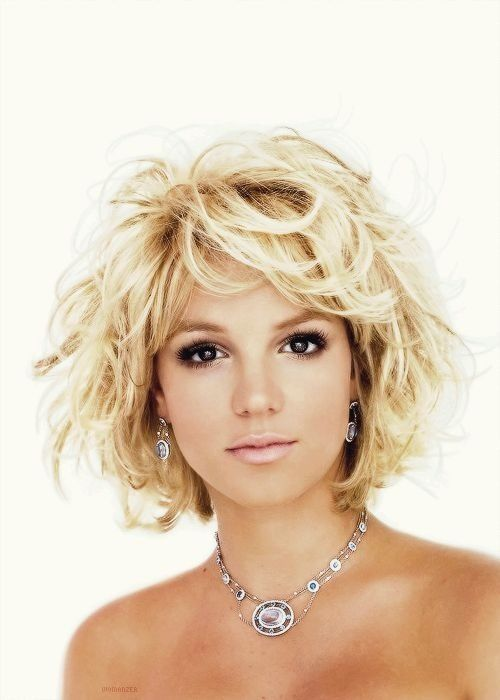 Short Choppy Blond Hair For Britney Spears Hairstyles