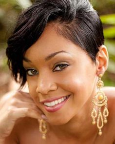 14 Sassy Short Haircuts for African American Women - Pretty Designs