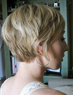 Short Layered Curly Hairstyle