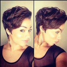 Phenomenal 14 Sassy Short Haircuts For African American Women Pretty Designs Hairstyles For Men Maxibearus