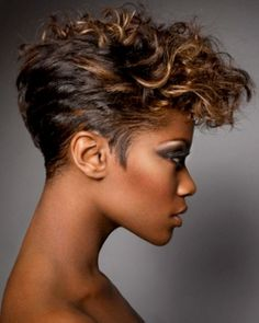 14 sassy short haircuts for african american women pretty designs short wavy ombre haircut for african american women pmusecretfo Image collections