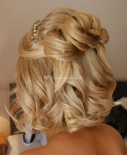 Wedding Hairstyles Short: 15 Fantastic Short Wedding Hairstyles