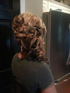 Side Updo for Medium Length Hair