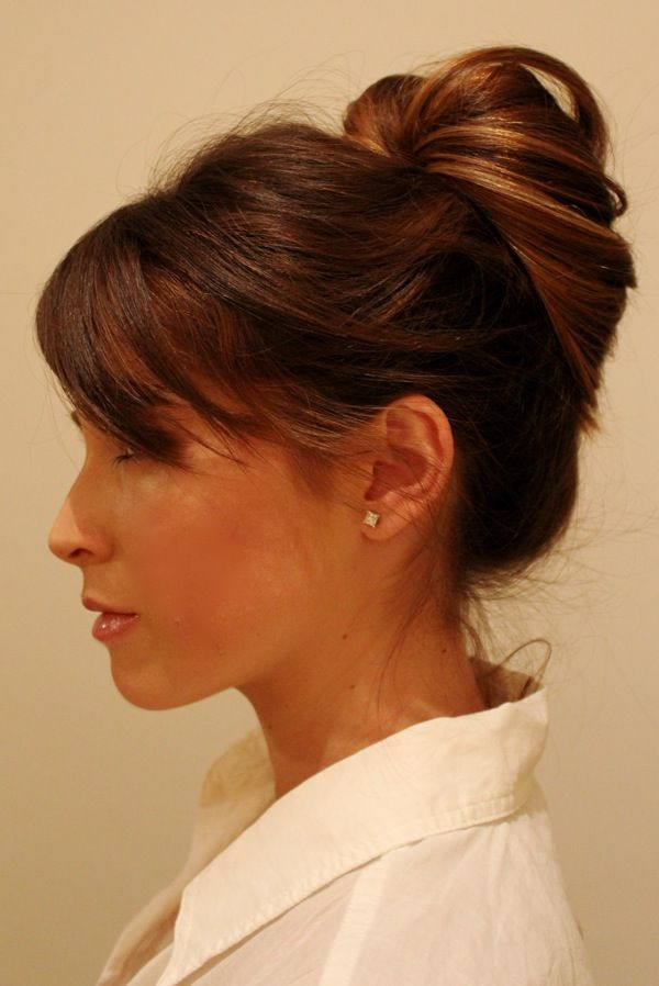 easy updo hairstyles for thin hair