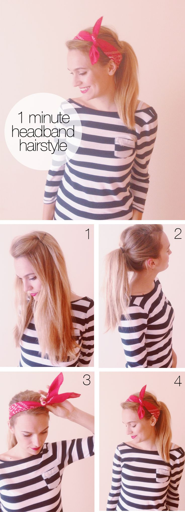 Most Fashionable Graceful Headband Hairstyle Tutorials And