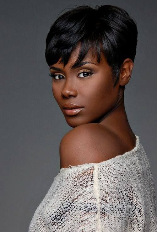 Stupendous 14 Sassy Short Haircuts For African American Women Pretty Designs Short Hairstyles For Black Women Fulllsitofus