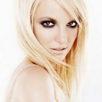 Sleek Blond Hair for Britney Spears Hairstyles