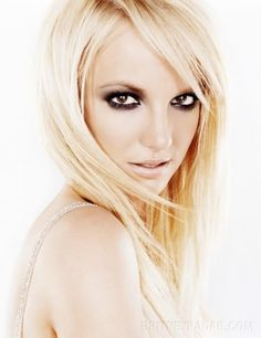 Sleek Blond Hair For Britney Spears Hairstyles