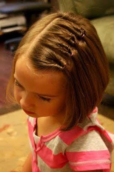 Sleek Bob Hairstyle for School Girls