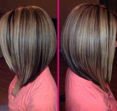Sleek Bob Hairstyle for Thin Hair