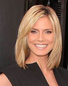 Sleek Straight Bob Hairstyle