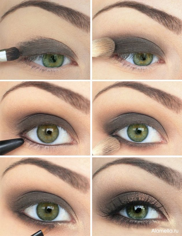 Smoky Gray Eye Makeup Tutorial