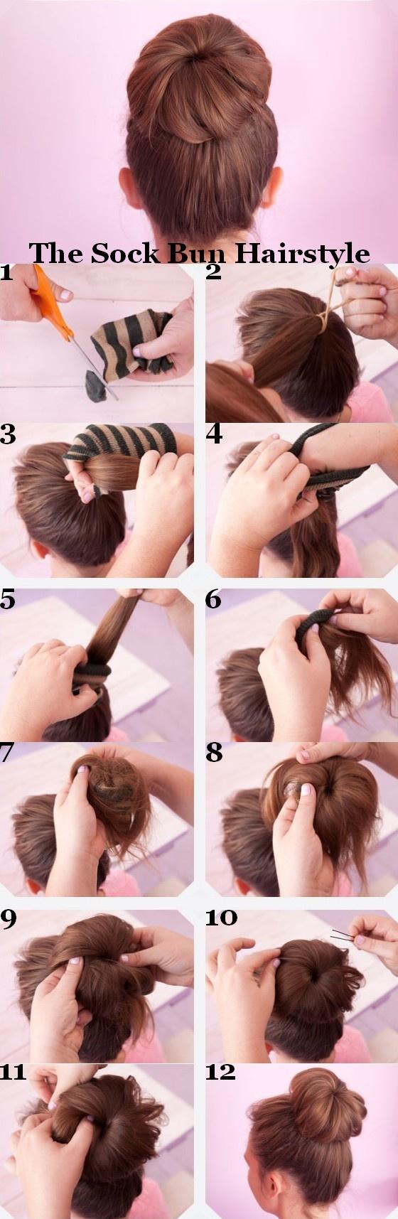 Прическа цветок из волос пошаговая инструкция