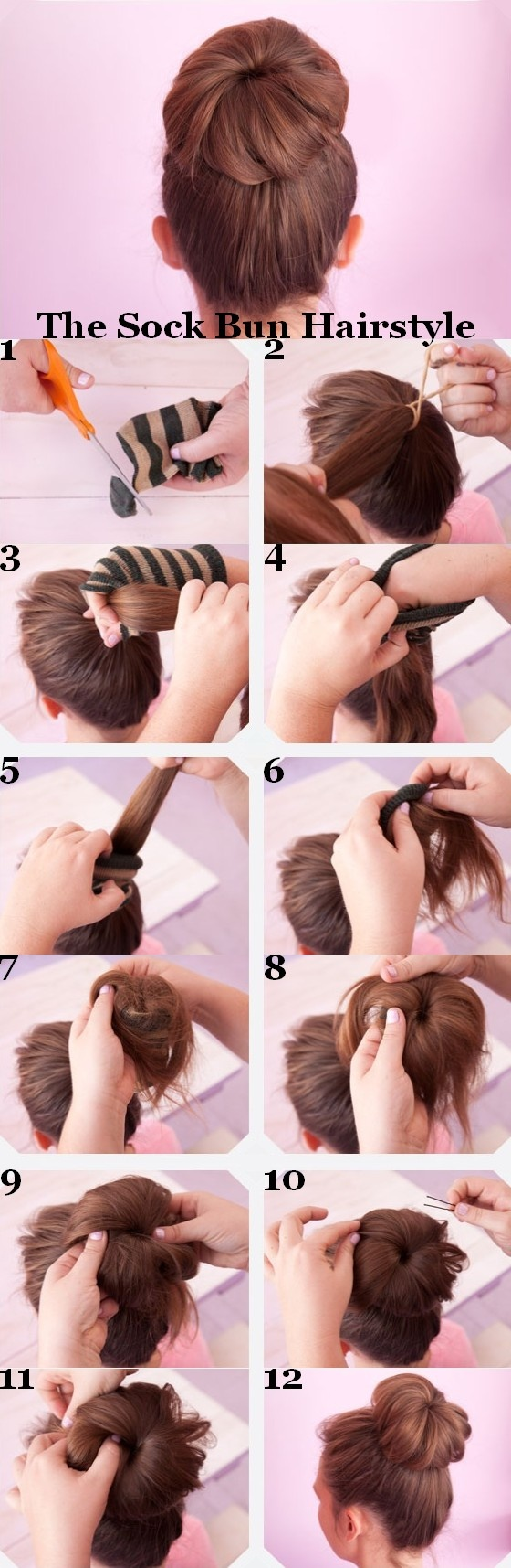 Fantastic 17 Charming Bun Hairstyles With Tutorials Pretty Designs Hairstyles For Women Draintrainus