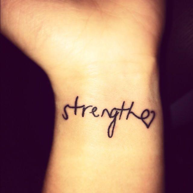 Strength Tattoo