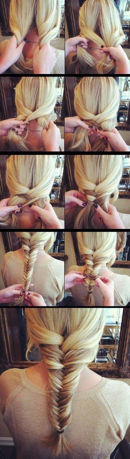 Stunning Braided Hairstyle Tutorial