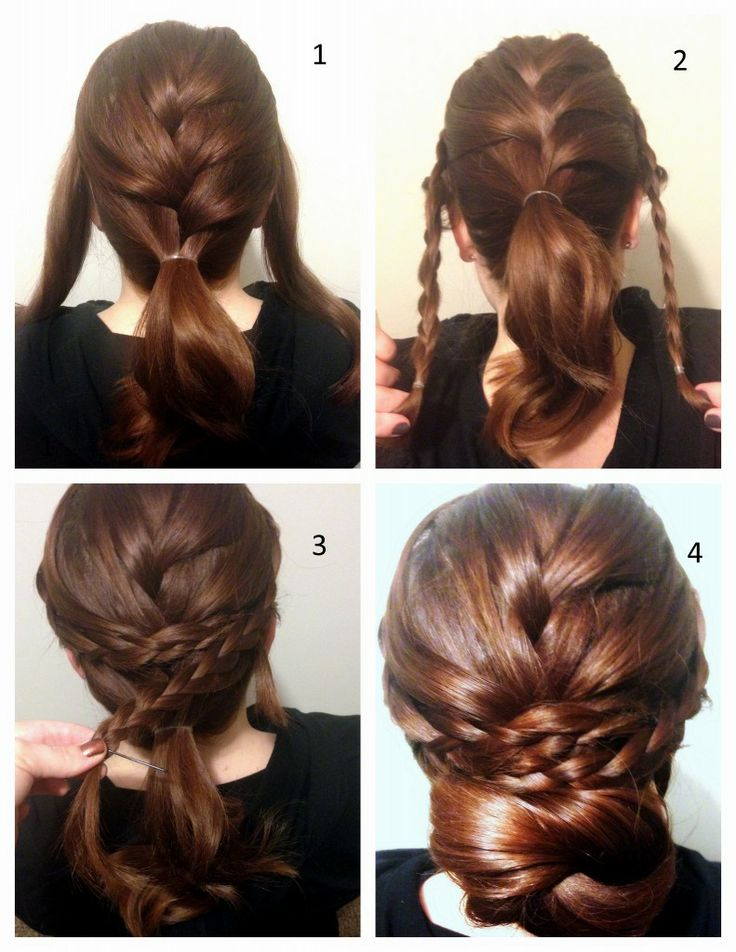 Enjoyable 19 Fabulous Braided Updo Hairstyles With Tutorials Pretty Designs Hairstyles For Men Maxibearus