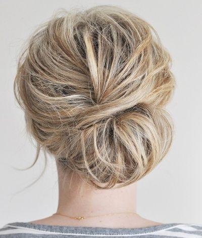 Astounding Graceful And Beautiful Low Side Bun Hairstyle Tutorials And Hair Short Hairstyles Gunalazisus