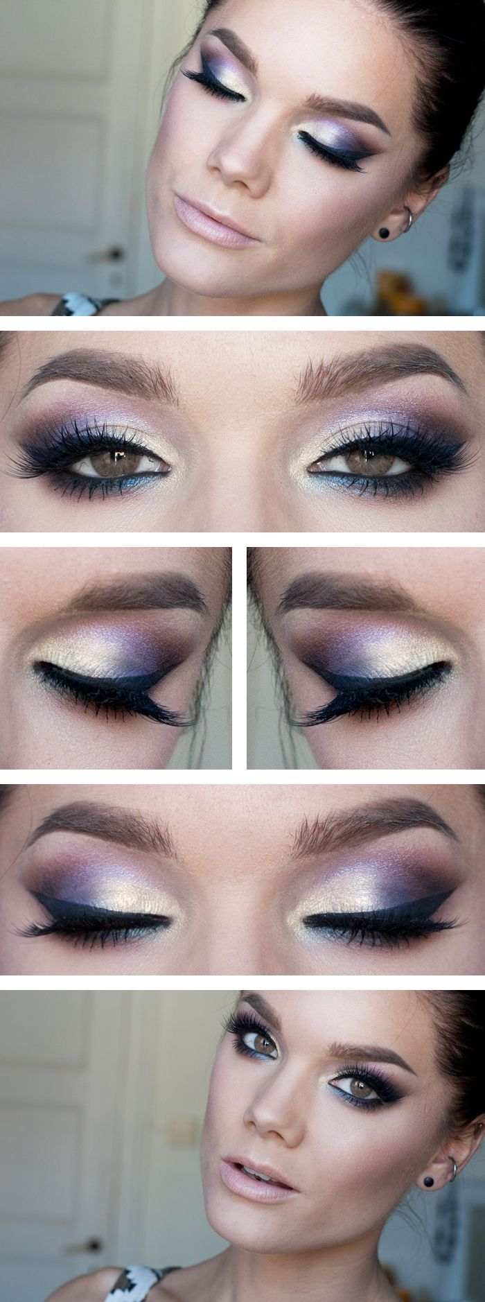 Stunning Purple Eye Makeup Tutorial