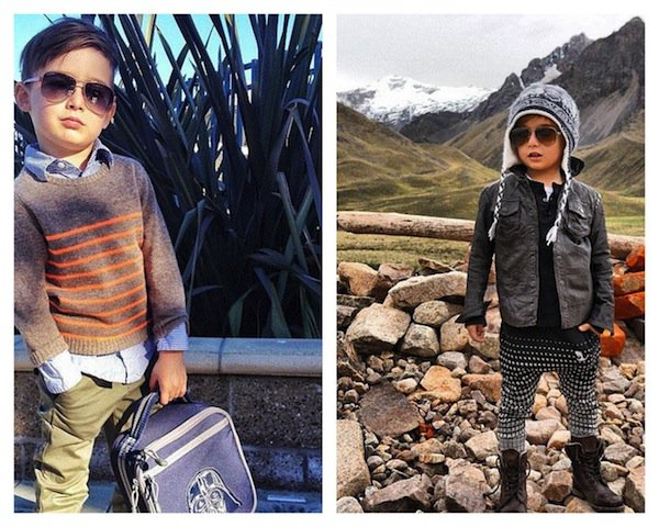Stylish Outfit Idea for Little Boy